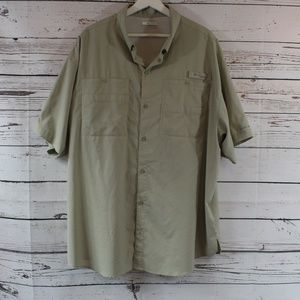Columbia Men's PFG Short Sleeve Vented Button Down
